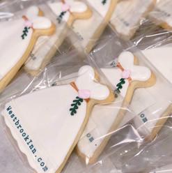 Business Logo Wedding Cookies