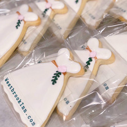 Business Logo Wedding Cookies