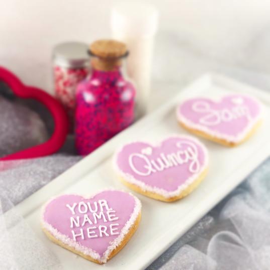 Custom Valentine's Day Hearts