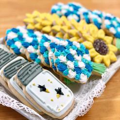 Summer Iced Cookies