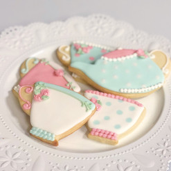Tea Party Baby Shower Cookies
