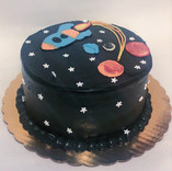 Outer Space Cake