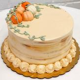 Caramel Apple Fall Harvest Cake