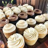 Elegant Cupcake Display