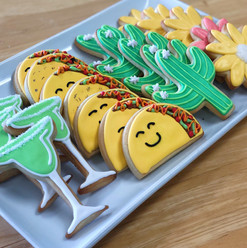 Cinco De Mayo Iced Cookies