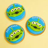 Cartoon Alien Cookies