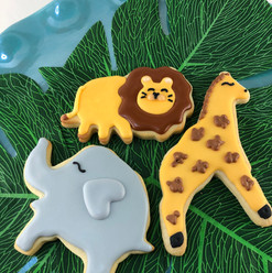 Safari Animal Cookies