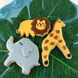 Safari Animal Cookies