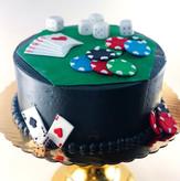 Poker Night Cake