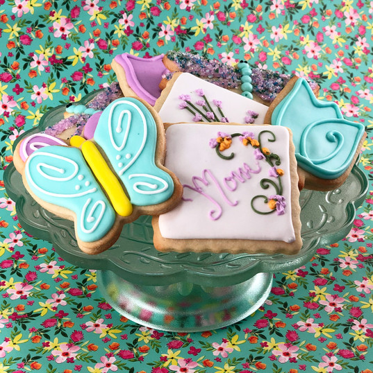 Mother's Day Iced Cookies