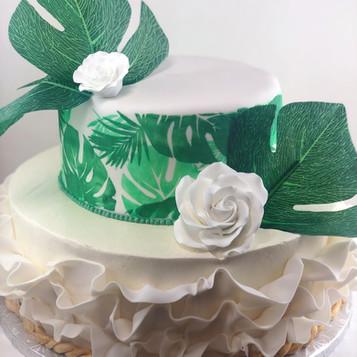 Two Tier Jungle Cake