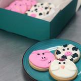 Farm Animal Cookies