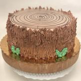 Woodland Stump Cake