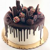 Loaded Chocolate Drip Cake
