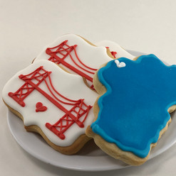 Lake Tahoe & Golden Gate Cookies