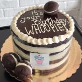 Whoopie Pie Birthday Cake