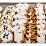 Floral Baby Shower Cookies