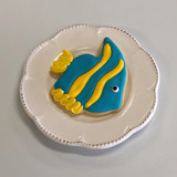 Tropical Fish Cookie