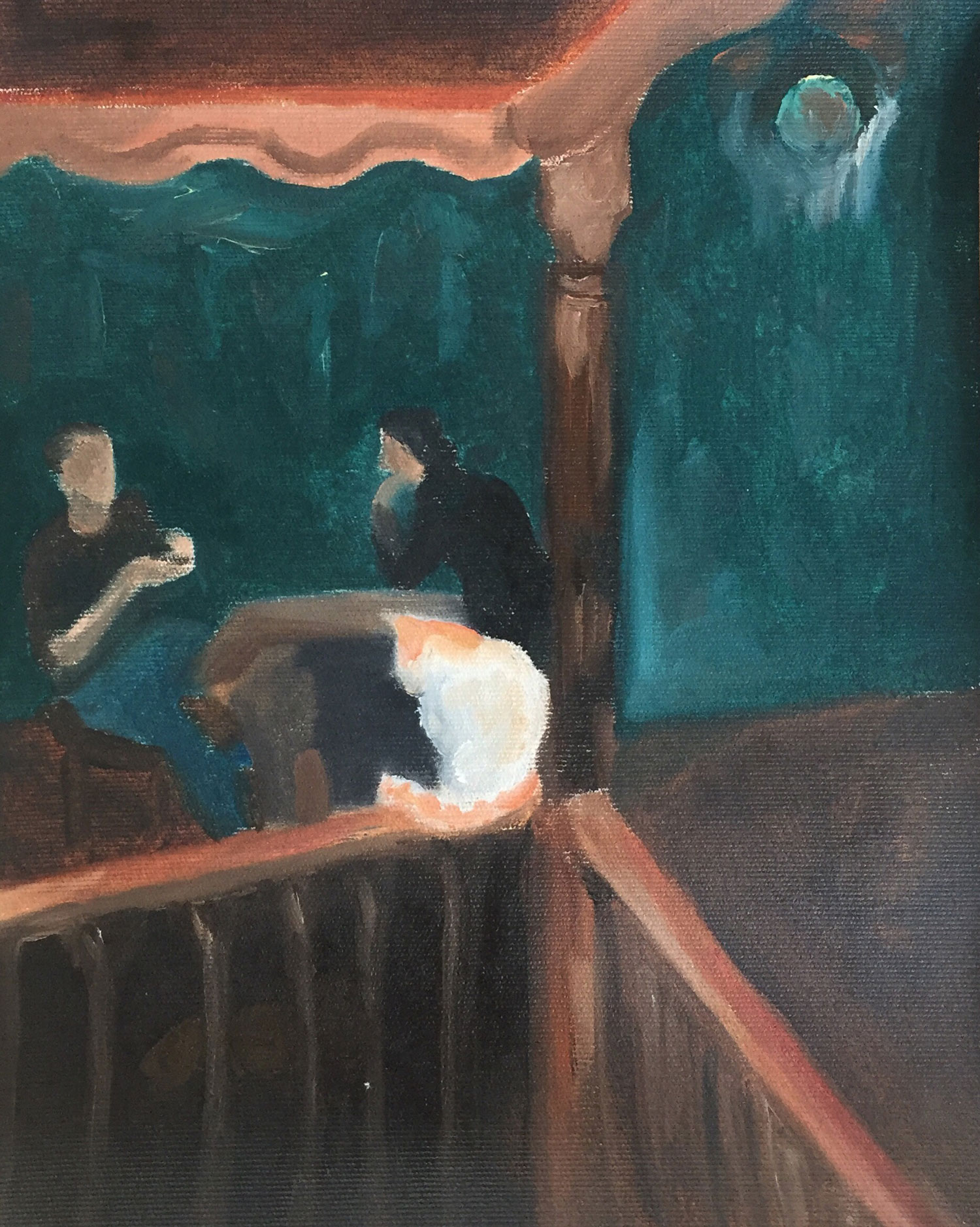 20x33 oil on canvas