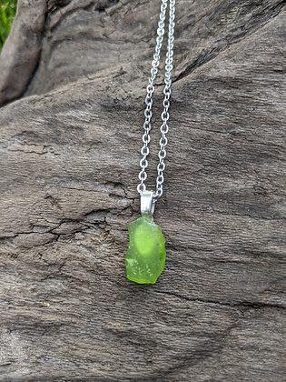 River Glass Pendant Necklace - Ophelia