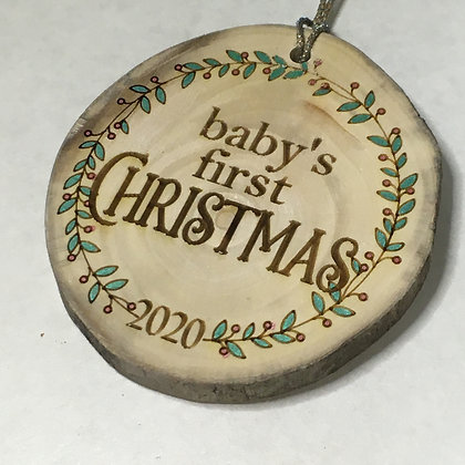 Baby's First Christmas 2020