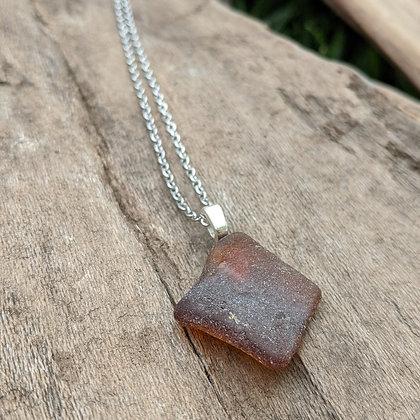 River Glass Pendant Necklace - Matilda
