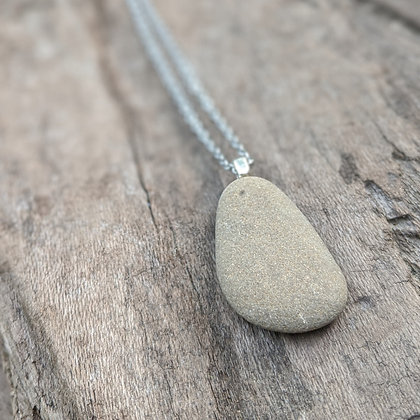 River Stone Pendant - Jo