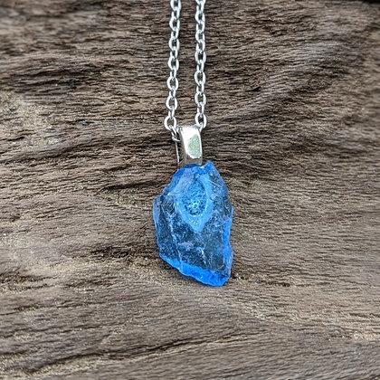 River Glass Pendant Necklace - Pecola