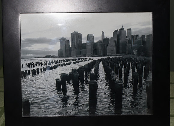 Framed Brooklyn Piers