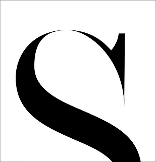 Sharp S typography exploration Billy Boman Design