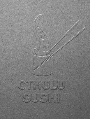 Cthulu Sushi Billy Boman Design