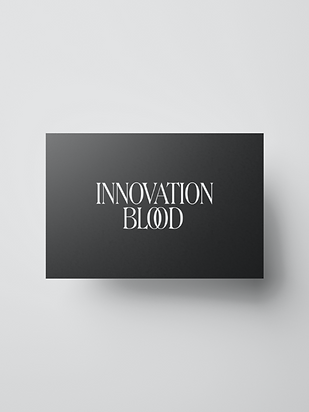 Innovation Blood Typographic Exploration Billy Boman Design