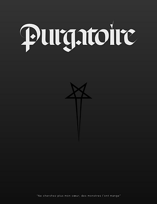 Purgatoire Modern Black Letter Typographic Exploration Billy Boman Design