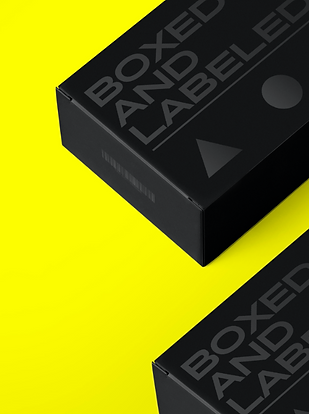 Boxed And Labeled Packaging Concept Billy Boman Design