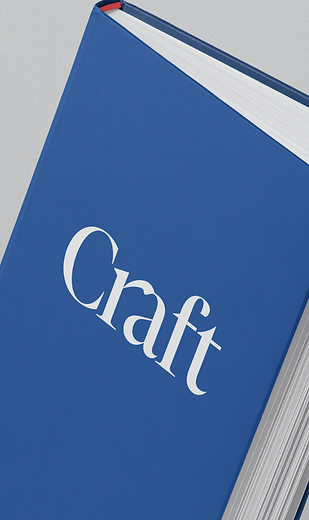 CRAFT Typographic Exploration Billy Boman Design