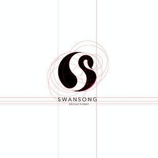Swansong Golden Ratio Logo Design Billy Boman Design