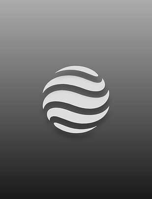 Circle Waves 3D Vector Symbol Billy Boman Design