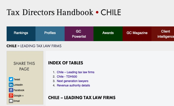 Tax Director Handbook