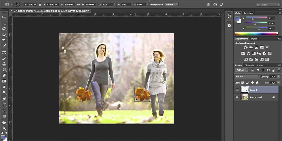 Class: Photoshop for Beginners