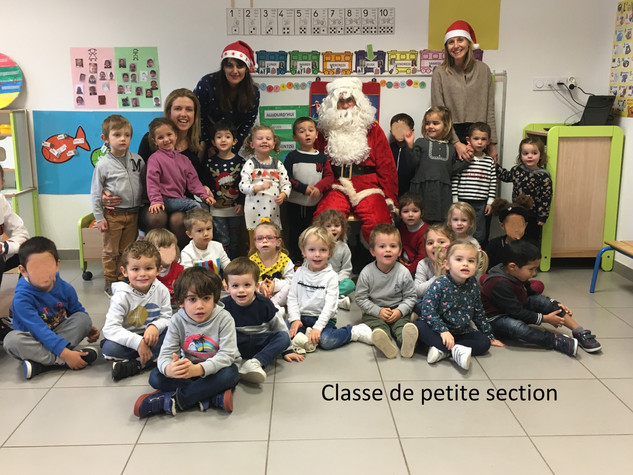 Petite Section Pere Noel
