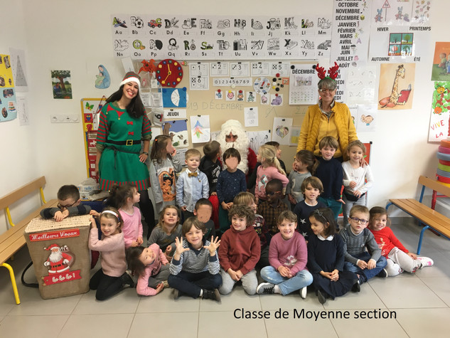 Moyenne Section Pere Noel