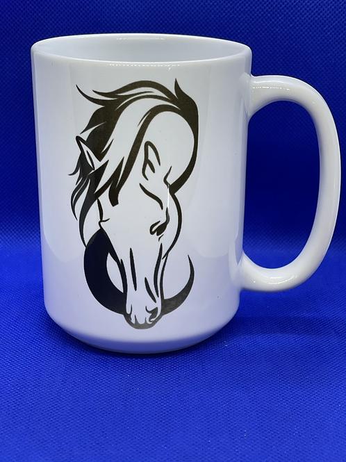 Horse Head Coffee Mug