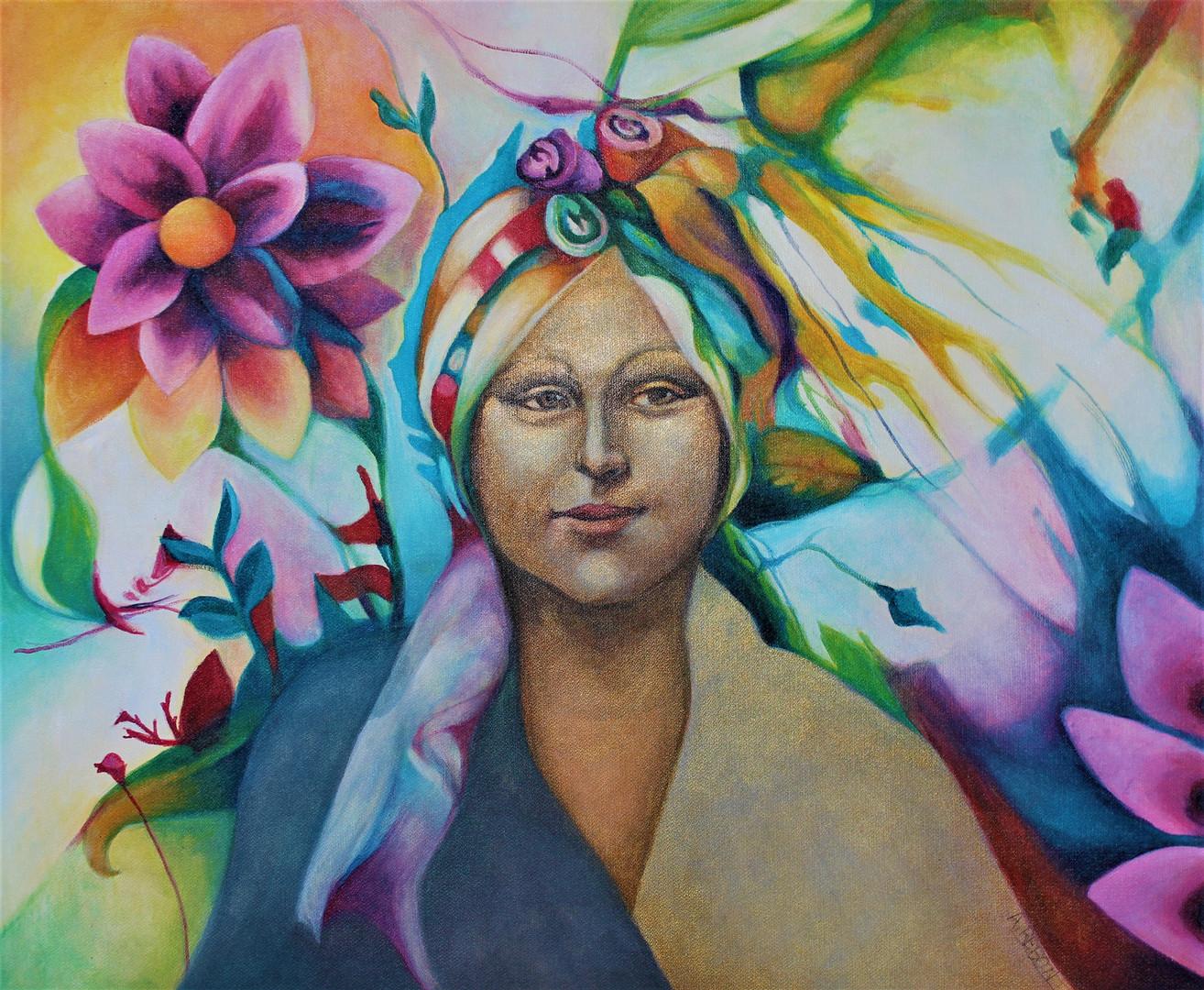 Mona Lisa en Primavera/ Mona Lisa im Frühling