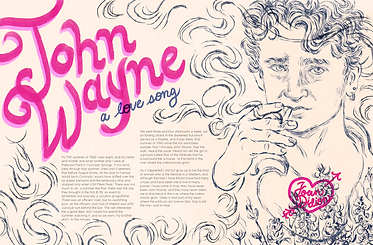 John Wayne: a love song