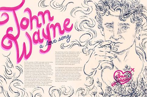 John Wayne: a love song
