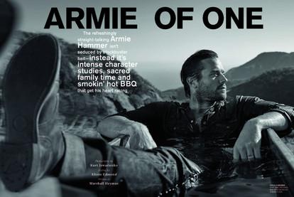 Armie Hammer
