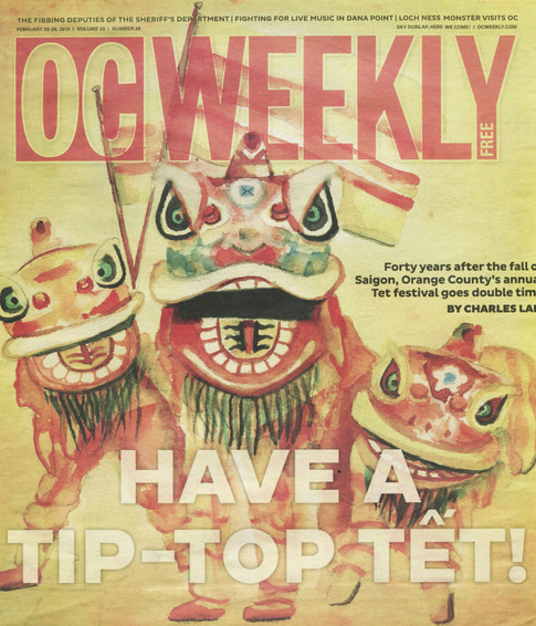 OC Weekly Cover