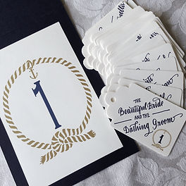 Escort Cards Table Markers Calligraphy | Lettering Matters