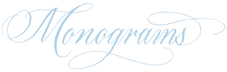 Monogram Calligraphy | Lettering Matters | Calligrapher NJ