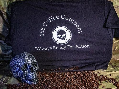 155 Coffee Co. T-Shirt Black